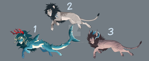 Adoptions Lions by hecatehell
