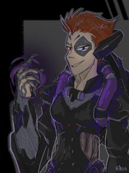 Aunt Moira by Artistic-Winds