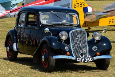 1936 Citroen 7C Traction Avant by Daniel-Wales-Images