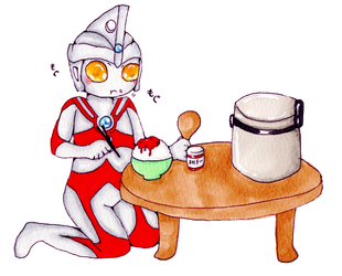 Ultraman Ace by divided-s
