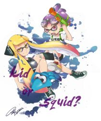 Splatoon - kid or squid? by RedKyuren