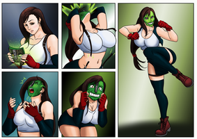 Tifa Mask TF for Colouring Contest by whatiwrote