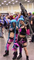 Cosplay - Jinx Squared by ForestWolfDragon