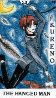 Tarot 12- The Hanged Man - FB by Twisted-chan