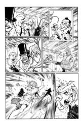 HARLEY QUINN PG 6 of 8 - Sam Lotfi by slotfi