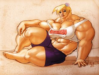 Genica Bulked Up by Jebriodo