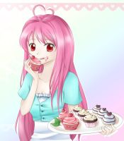 Commish: Sweetie cake by Fuyuume
