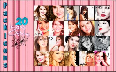 Pack Icons Girls 2 by MyHeartWithJoe