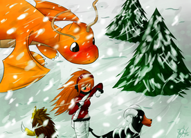Challenging the Blizzard by SillyPepper