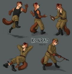 commission : Konrad by Kobb