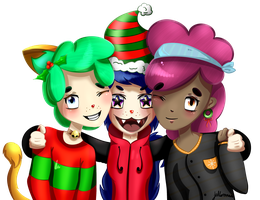Merry christmas gang! by WeepyKing