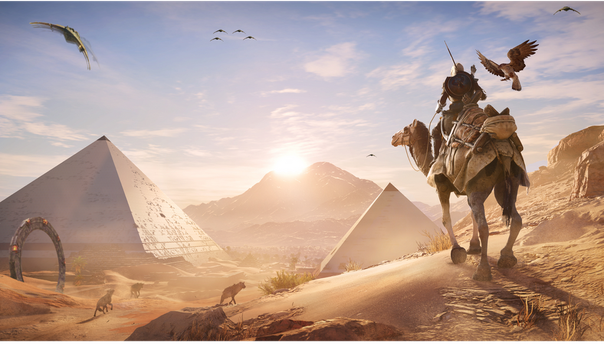 (stargate / Assassin's creed) Origins by destinycenter1
