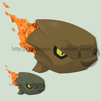 Fakemon Blisteroid by mssingno