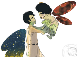 Grave of the Fireflies by electra-gretchen