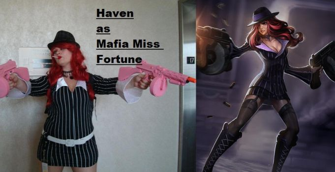Mafia Miss Fortune by MoralInsanityCosplay