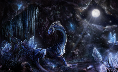 Concealed by Moonlight by Isvoc