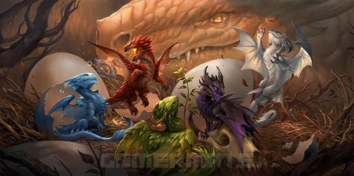 Baby Dragons by sandara