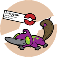 Fake Pokemon: Platypois by Sageroot