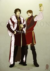 Commission: Victor and Joseph by Lelia