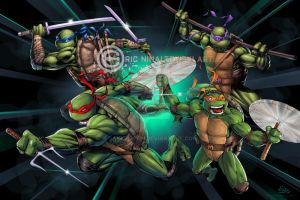 Teenage Mutant Ninja Turtles!! by SaviorsSon