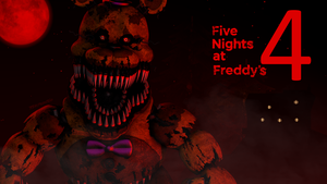 Nightmare Fredbear by TF541Productions