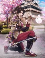 Soul Calibur - Taki 2 by Nightingale122