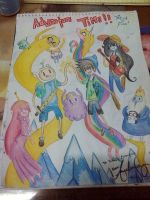 Adventure Time with Patrick and Finn! by NayukiMinase