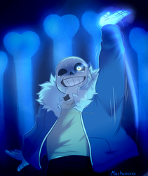 Sans is back by Tea-cup-kitty