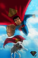 Superman and Krypto: ReSPECTs by siamgxIMA