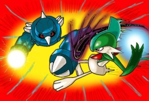 Metang Vs. Gallade