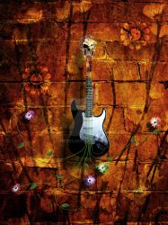 Psychedelic Guitar by mep92