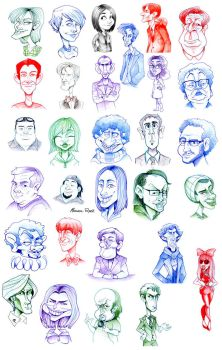 -familiar faces- by weird-science