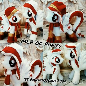 MLP OC Pony Plushies..Rouge by Ponypassions by ponypassions