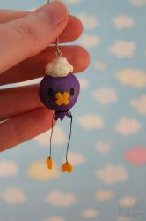 Drifloon charm by EmisBakery