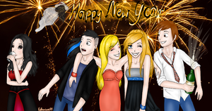 Happy New Year by Kazuren