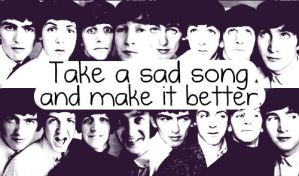 A message from The Beatles: by BigEyesGreen89