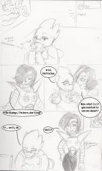 Mettaton's Big Reveal page 1 by SonicRose