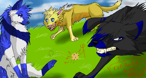 Iscribble doodle - Evil Cookie by lvdragon