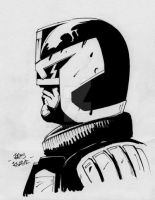 Judge Dredd by kris-knave