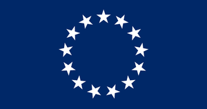 Flag of the United Republic of America by HistoryRedone