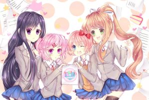 Join the Doki Doki Literature Club by TacToki