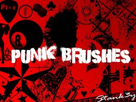 PuNK BRuSHeS by stank3y