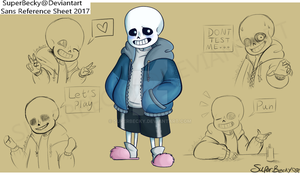 Sans Reference Sheet 2017-2018 (For personal use) by SuperBecky