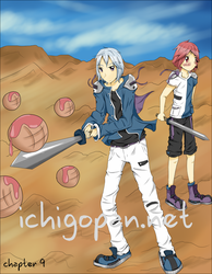 Ichigopan Chapter 9 Cover by fearthebread