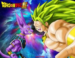 bILLS VS bROLY by MundoDragonBall77