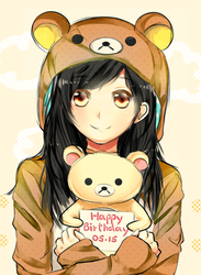 Happy bday hizuzu-chan by Wendychi