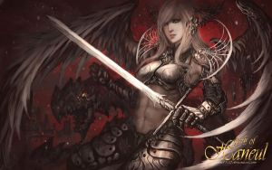 Angelic Knight by shizen1102