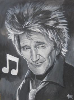 Rod Stewart by SketchMonster1