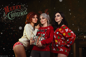 The Witcher - Christmas Ladies by MilliganVick