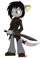The sellsword by Sandwich-Anomaly